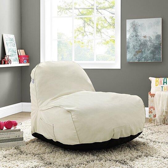 Sensational Loungie Cosmic Foam Lounge Chair Nylon Bean Bag Indoor Outdoor Self Expanding Water Resistant Short Links Chair Design For Home Short Linksinfo