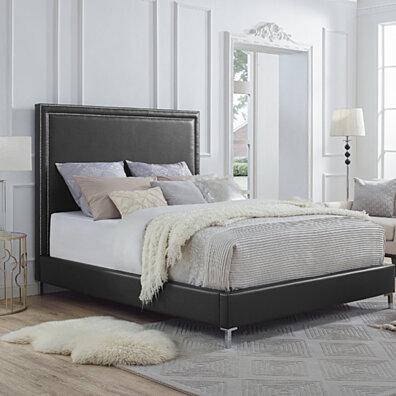 Home furniture bed designs King Magnussen Home Home u003e Furniture u003e Bedroom u003e Bed Frames