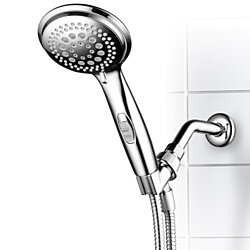 DreamSpa 9 Setting Hand Shower Head with Patented ON/OFF Pause Switch