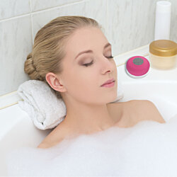 Large Bluetooth Waterproof Shower Speaker - 7 Colors