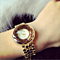 Crystal Cutting Surface Alloy Women Watch