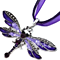 European Fashion Dragonfly Creative Necklace Sweater Chain