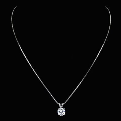 Solitaire Pendant Necklace, Earrings Set MADE WITH SWAROVSKI® ELEMENTS