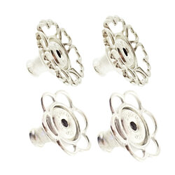 World's most secure Patented Replacement Earring Back in .925 Silver