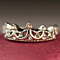 Crystal Drill Hollow Crown Shaped Queen Temperament Rings For Women Party Wedding Ring Jewelry