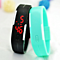 Digital Wristwatches women men clocks Korea style fashion Harajuku candy color sports jelly LED Touch bracelet watch gift