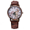 Leather Watch World Map Watch Gift