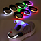 LED warning light clip Colorful flashing shoe clip for night running and night riding with rechargeable battery