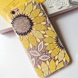 Sweet Yellow Sunflower Case for iPhone