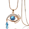 Charming Crystal Eye Tear Necklace