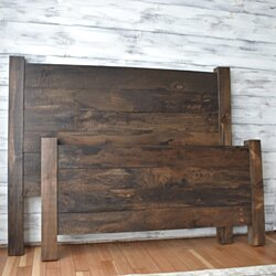 Farmhouse Headboard and Foot board