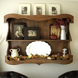 Hutch Wall Mount, Cabinet Shelving unit
