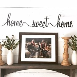 Home Sign, Home Sweet Home, Entryway Sign, Farmhouse Signs, Modern Farmhouse,