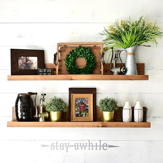 Floating Shelf Wood Shelves