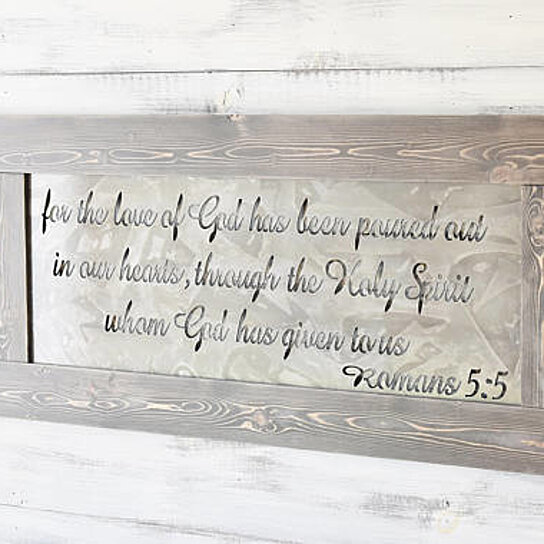 Beautiful Buy Signs With Quotes, Romans 5:5, Metal Signs, Scripture Wall Art, Metal  Wall Art, Wall Hanging, Wood Sign, Home Decor, Signs For Home By JNMRustic  Designs ...