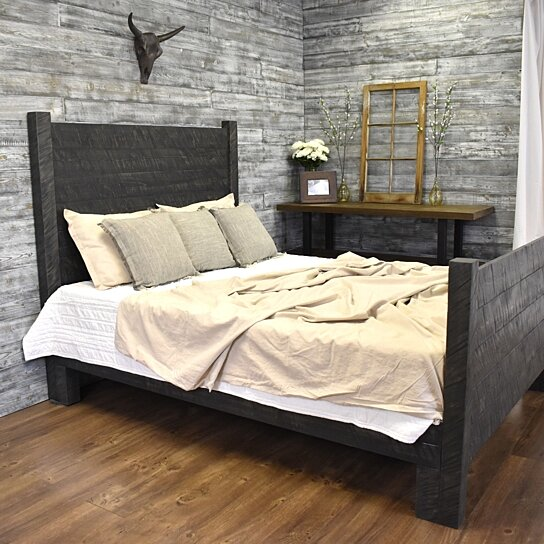 Platform Bed Mason Wood Headboard Platform Bed Queen Wood Bed Frame