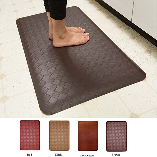 Buy Anti Fatigue Memory Foam Kitchen Mat Assorted Colors