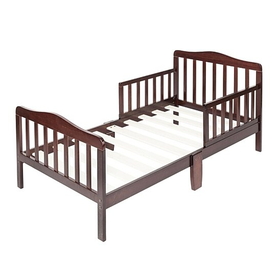 Wooden Baby Toddler Bed Children Bedroom Furniture With Safety Guardrails By Joybase On Dot Bo