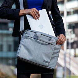 Tucano Svolta Large Water Resistant notebook bag with Multi Pockets for Laptops up to 15.6""