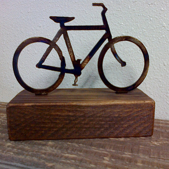 Buy bicycle paperweight shelf decoration reclaimed wood for Where to find reclaimed wood for free
