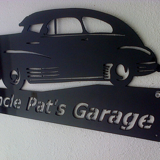 Personalized Man Cave Garage Signs : Buy personalized man cave classic chevy garage sign