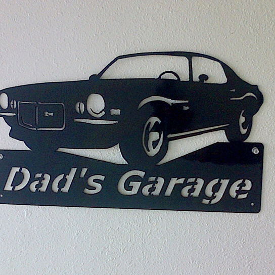 Cheap Personalized Man Cave Signs : Buy personalized man cave classic chevrolet camaro