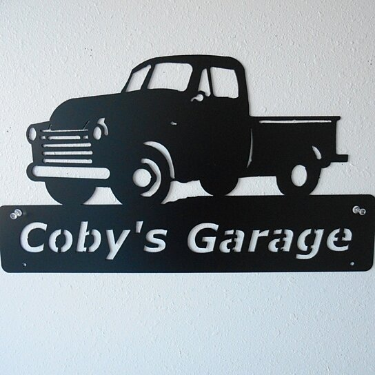 Man Cave Trucks For Sale : Buy personalized man cave classic chevrolet truck garage