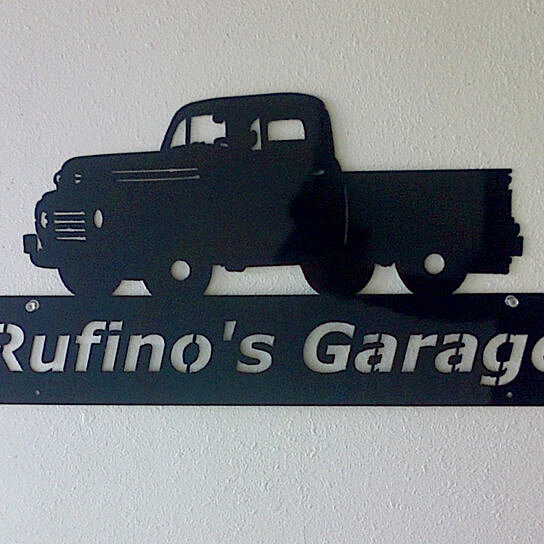 Man Cave Trucks For Sale : Buy personalized man cave classic ford truck garage sign
