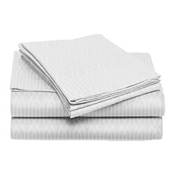 6-Piece: 90GSM Willow Sheet Set w/ Additional Pillowcases