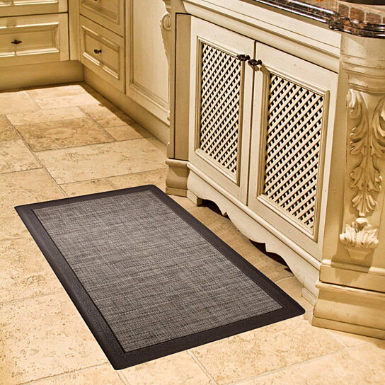 David Burke Anti-Fatigue Oil and Stain Resistant 20x39 Kitchen Mat