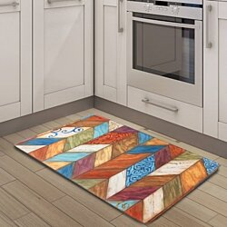 "Nicole Miler 20""x39"" Anti-Fatigue Embossed Floor Mat"