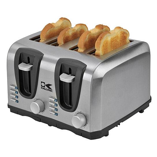 Led Light Toaster ~ Buy kalorik slice stainless steel toaster by on