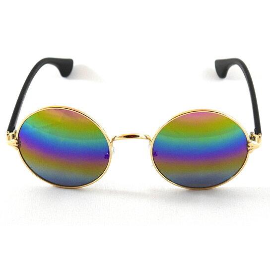 aecfc4d8da Buy John Lennon Sunglasses Hippie Retro Round Frame