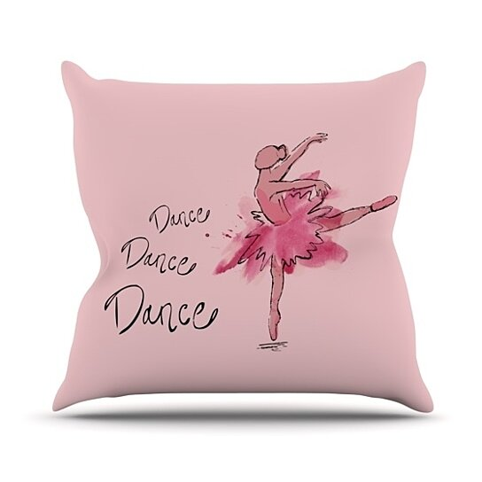 Buy Brienne Jepkema Quot Ballerina Quot Throw Pillow By Kess