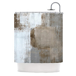 "CarolLynn Tice ""Calm and Neutral"" Shower Curtain"
