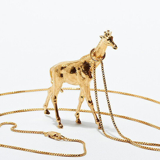 Buy giraffe necklace by kiel mead on opensky for Giraffe childcare fees
