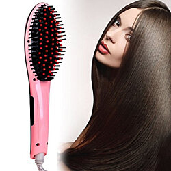 Premium Hair Straightener Brush 60 Days warranty - Assorted Colors