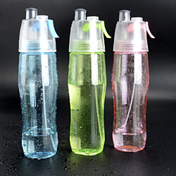 Sports Misting Water Bottle