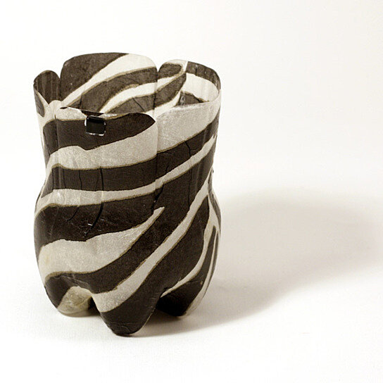 Buy Plastic Bottle Gift Box Zebra Print By Koru Street On Opensky