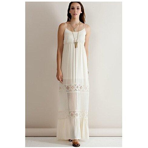 Buy Boho Slip Dress By Lace And Grace Boutique On Opensky