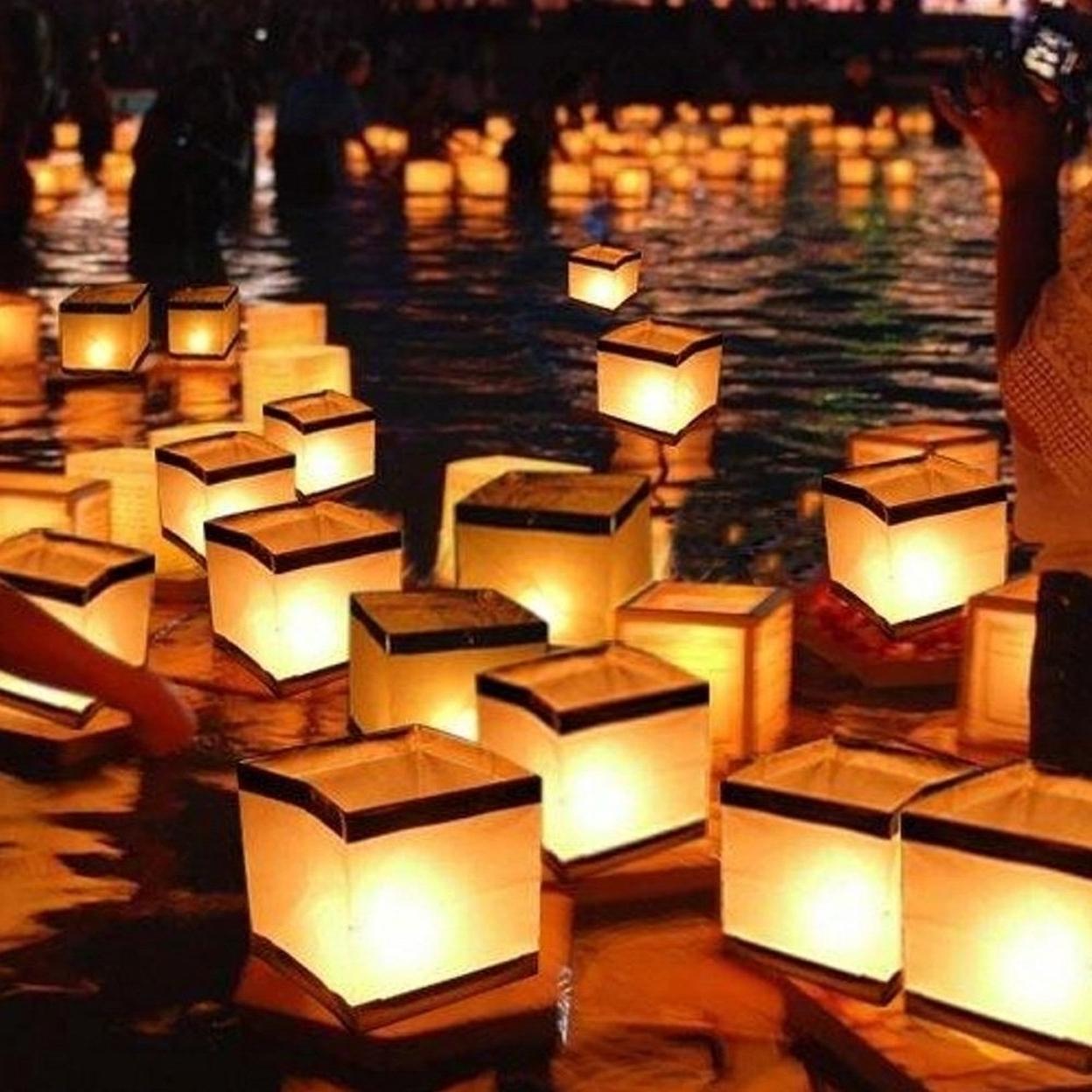10 Pack: Water Floating Candle Lanterns Biodegradable 59f5f4a1e224615b7e37575e