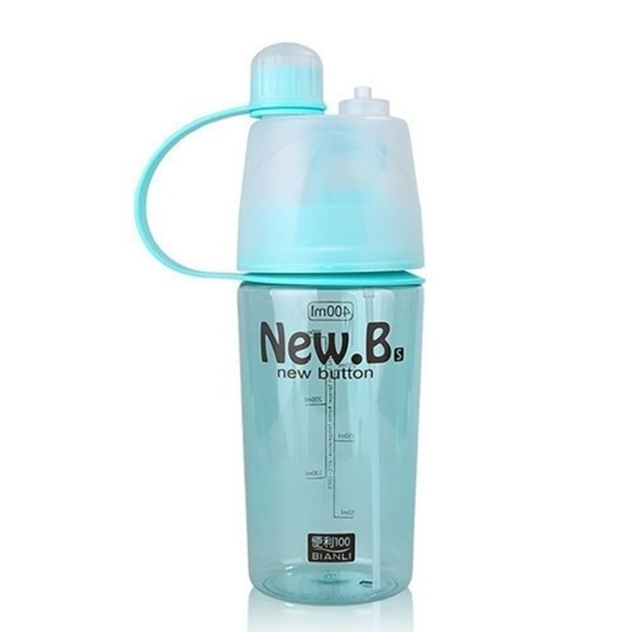 Portable 400 ml 2 in 1 Outdoor Sport Drinking and Misting Spray Water Bottle 59f5f4a6e2246154c22fd3f8