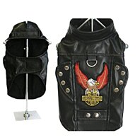 "Ruff-n-Tuff ""Born To Ride"" Harness motorcycle Jacket in Black"