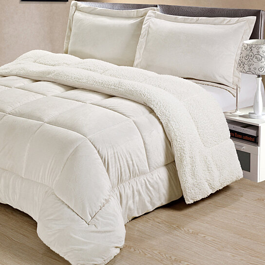 Buy home classic collection micro mink sherpa convertible for Classic home collection