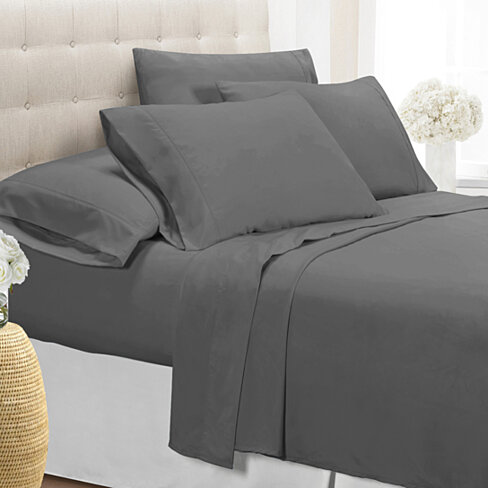 Superbe Ultra Soft 1800 Series Wrinkle Free 6PC Sheet Set