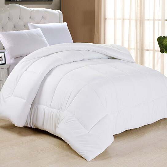 buy allseason down alternative comforter duvet insert in 5 colors by laurel park home on dot u0026 bo