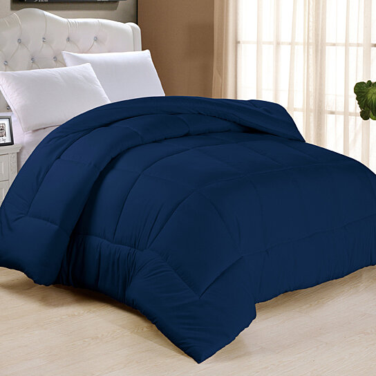 Home Design Down Alternative Color Comforters: Buy All-Season Down Alternative Comforter Duvet Insert In