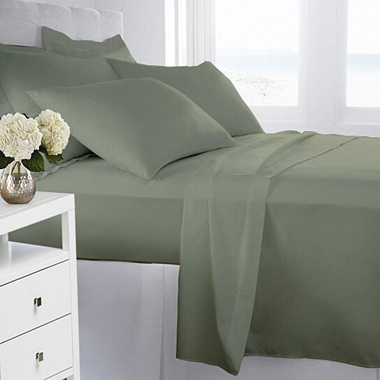 Buy Ultra Soft 1800 Series Wrinkle Free 4PC Sheet Set By Laurel Park Home  On OpenSky