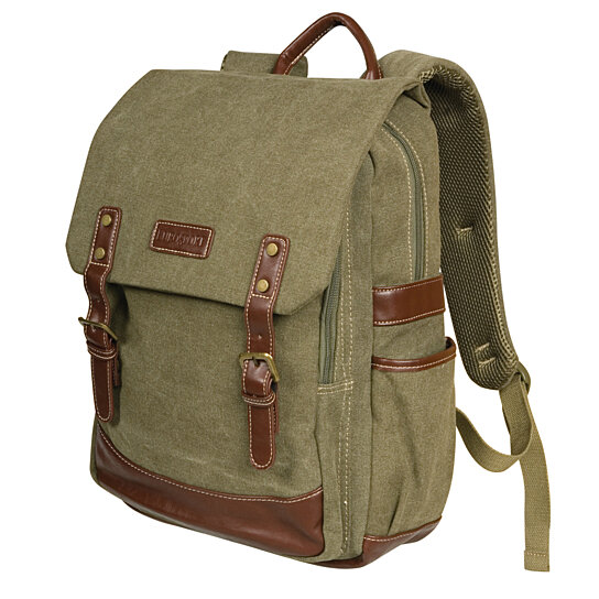 0a66822512bb Buy Canvas Laptop Backpack Rucksack by Eurosport