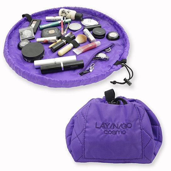190ea20216 Buy LAY N GO COSMO Purple Cosmetic Bag by Lay-n-Go on OpenSky